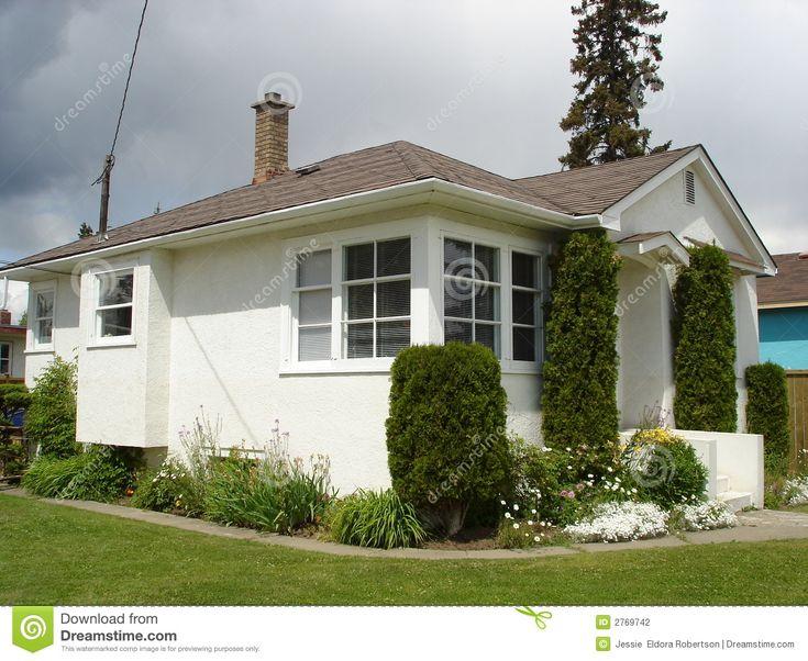 Little White Stucco House Outside Pinterest Nice