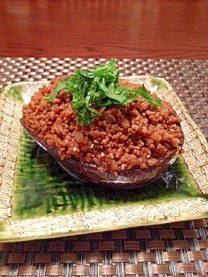 「美味しい~♪米なすの肉みそ田楽☆」米なすと肉みその相性抜群!!美味しいです♪【楽天レシピ】