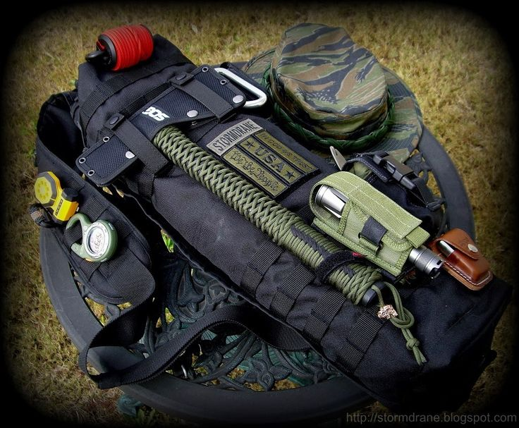 Bug Out Bag With Tomahawk Bug Out Gear Pinterest