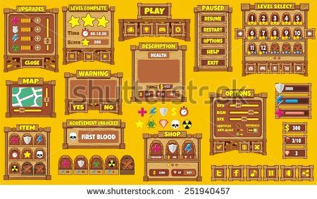 Game Ui Stock Photos, Images, & Pictures | Shutterstock