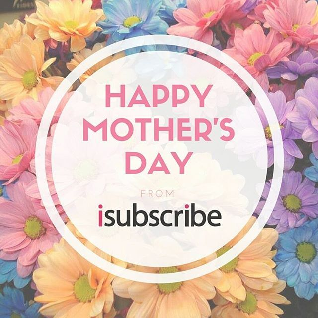 We hope all the Mum's out there had a lovely Mother's Day .. #MD2016