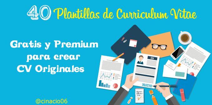 Lasmejores Plantillas Curriculum Vitae Gratis y Premiumpara hacer currículums creativos. 40 Modelos y ejemplos de curriculum vitae para descargar gratis