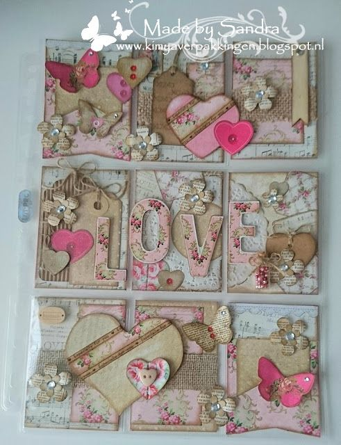 Freubel Sannie: Pocket letter swap Kimya