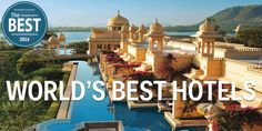 The 25 best hotels in the world.