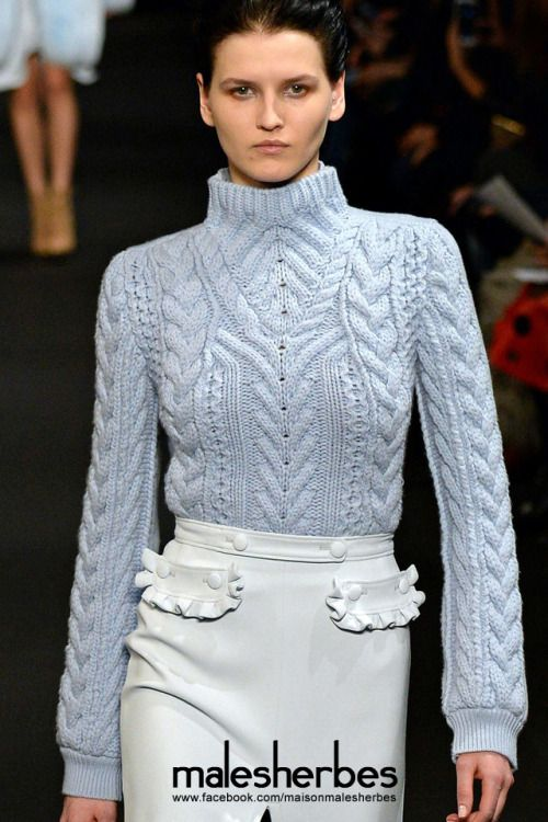 "maison-malesherbes:  ""[ Fashion ] Altuzarra Fall 2015 NYFW  Please follow us on our FACKBOOK page, if you interested and also to know more about us and crochet, knitting, arts, fashion, movies and more…  https://www.facebook.com/maisonmalesherbes/  """