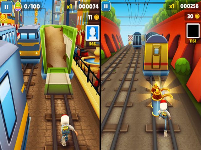 play online games subway surfer