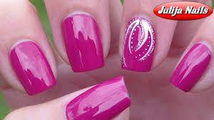 ▶ Простой дизайн ногтей для начина
