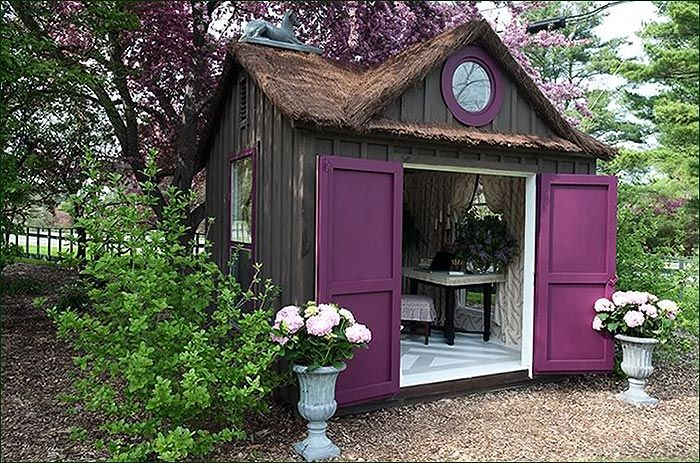 Female Man Cave Shed : Forget man caves she sheds are the new female equivalent