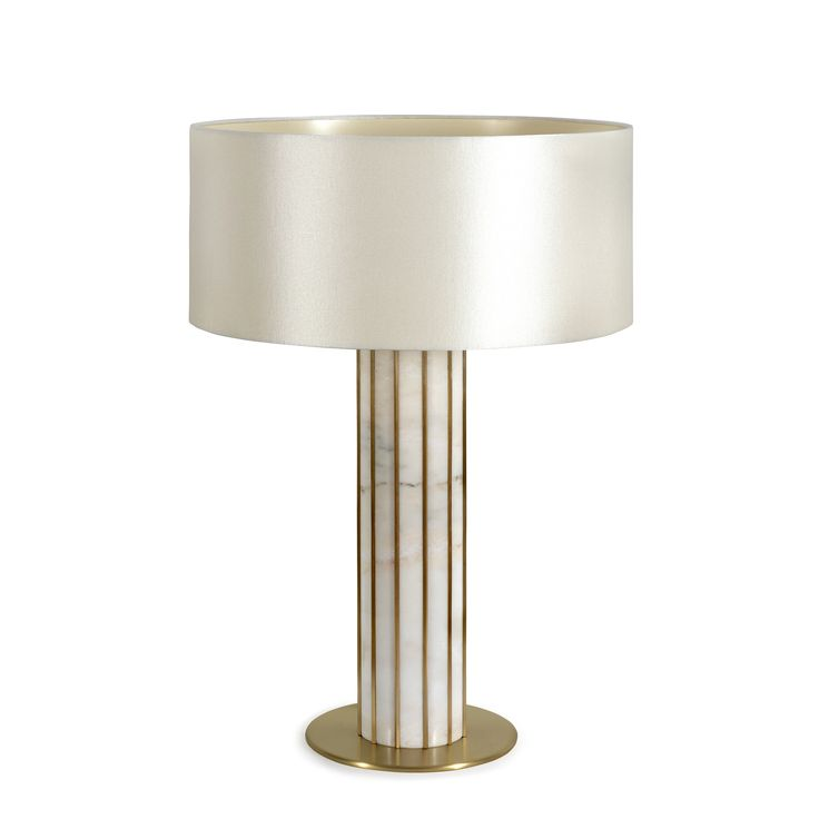 Seagram table lamp Designed by Joana Santos Barbosa for INSIDHERLAND  #architecture #tablelamp #brass #marble #estremoz #livingroom #diningroom #lighting #modernlighting #luxury #interiors #interiordesign #uniquelighting #artlighting #lightinginspiration #insidherland #jsb