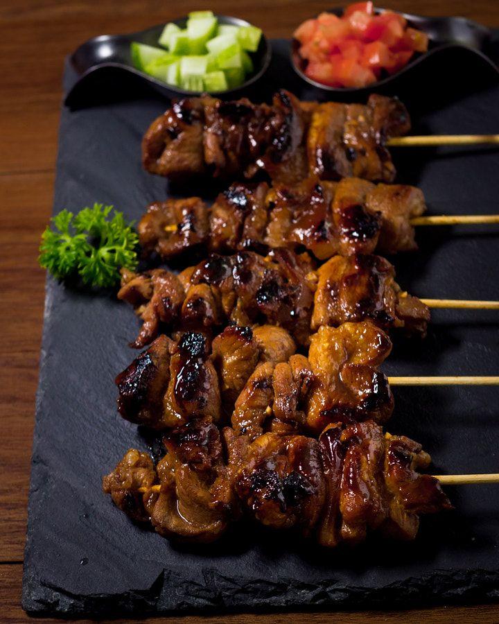 Filipino Pork Satay
