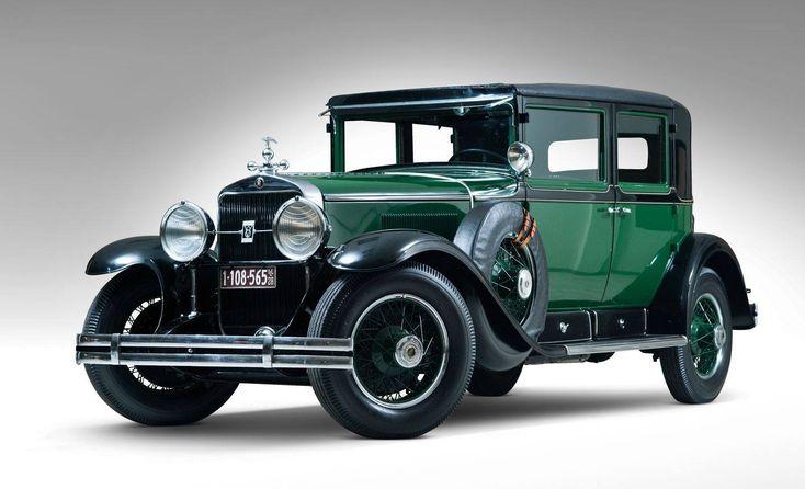 Al Capone's 1928 341 v8 armoured Cadillac