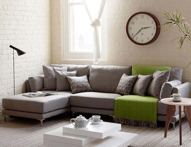 Corner Sofa For A Cozy Living Room. #corner #sofa #cozy #livingroom