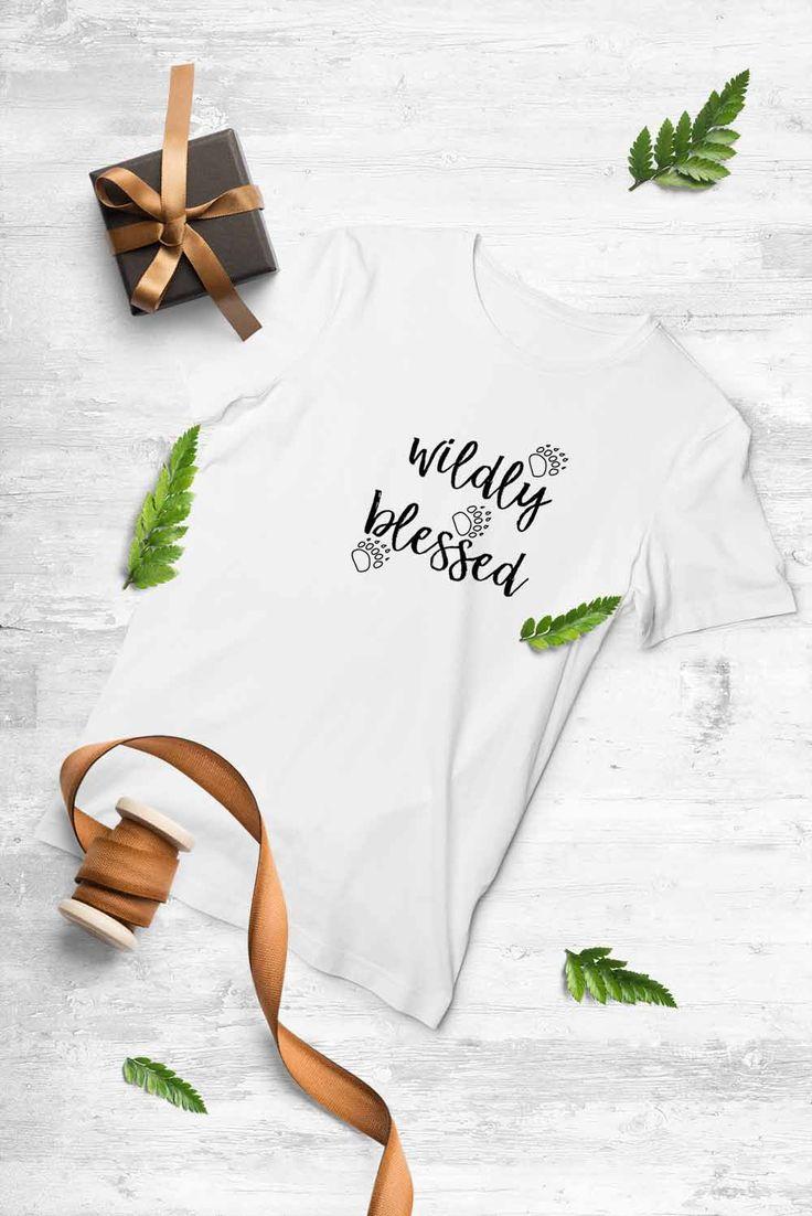 Wildly Blessed - womens tshirt#soulscripts #illustratedfaith #mycreativebiz #creativelifehappylife #handsandhustle #makersgonnamake #creativeentrepreneur #craftsposure #thebloomforum #lightinspired