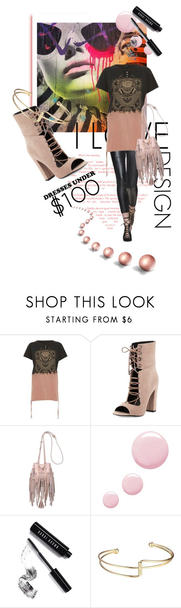 """Under $100: Summer Dresses"" by kari-c ❤ liked on Polyvore featuring River Island, Kendall + Kylie, Moda Luxe, Topshop, Bobbi Brown Cosmetics and under100"