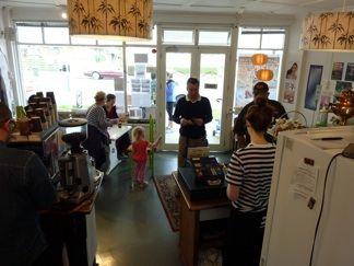 Garnet Station Cafe, Westmere.