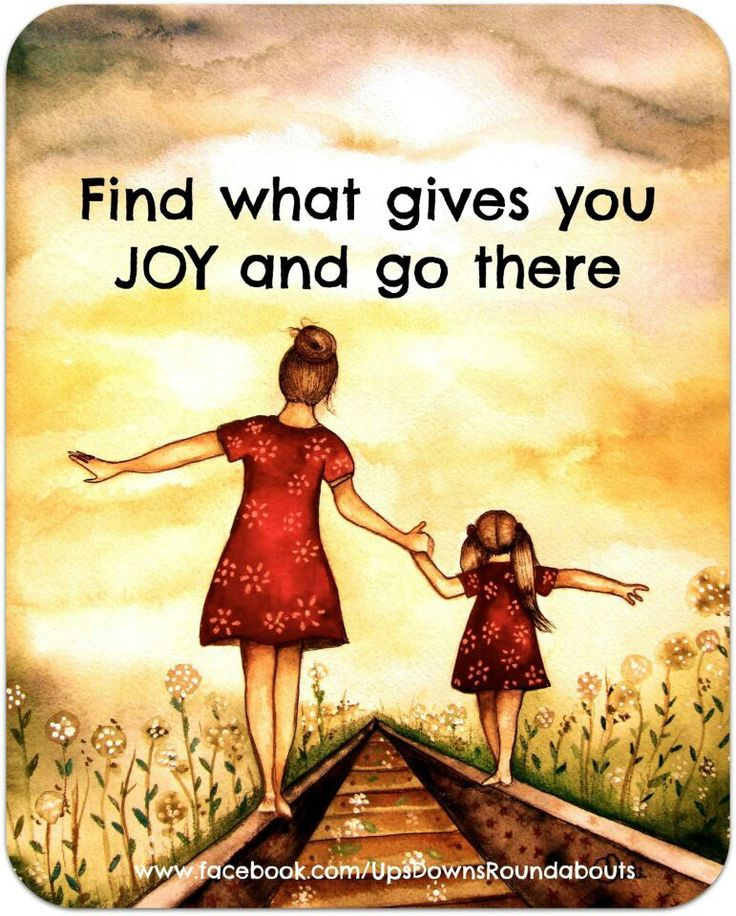 Find what gives you JOY and go there #ThriveOCourse
