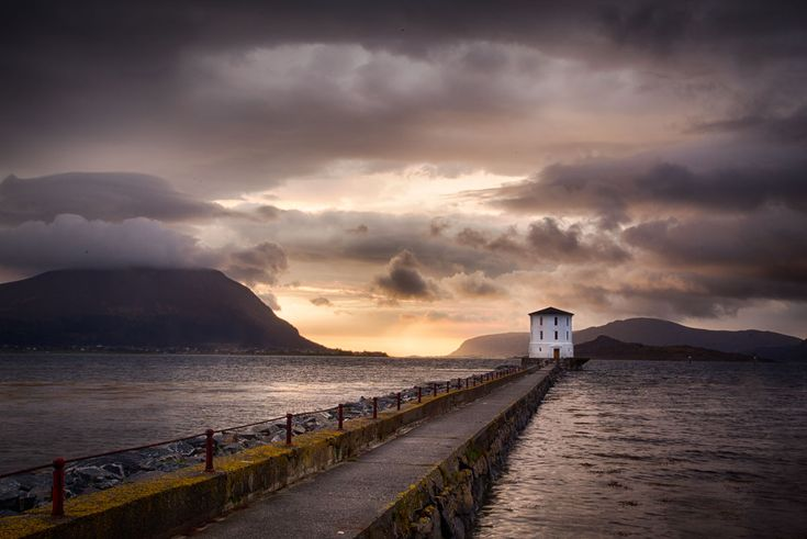 Compositions in landscape photography. Photo: John Einar Sandvand