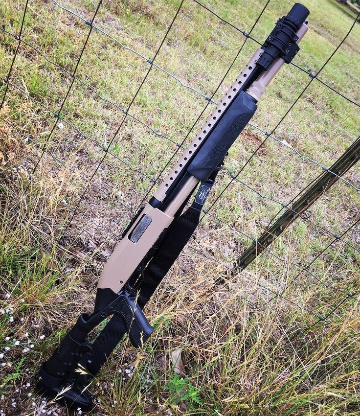 One fun @winchesterrepeatingarms model 1200! Mounted a @nordic_comp picatinny rail to the receiver and refinished it in FDE and Deep Black. @kgindustries #winchester #winchester1200 #shotgun #gunporn #gunlife #pewpew #kgindustries #kggunkote #kgmafia #paintlife #gunsmithing #12gauge #gunsofinstagram #gunstagram #fde #flatdarkearth #deepflatblack #wittnessweapons #libertyhilltx