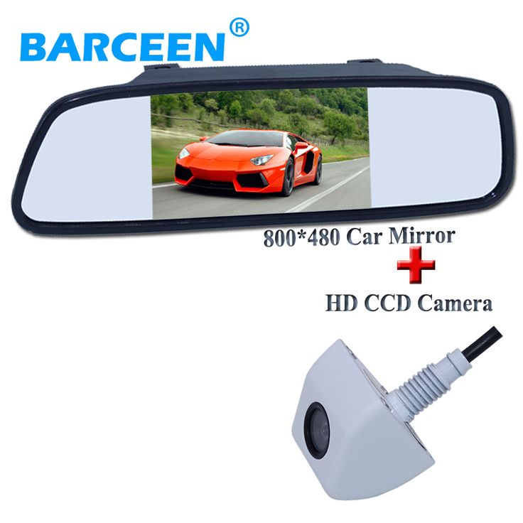 CCD Color Car Reverse Rear View Parking Back Up Camera For MITSUBISHI Lancer - фото 3