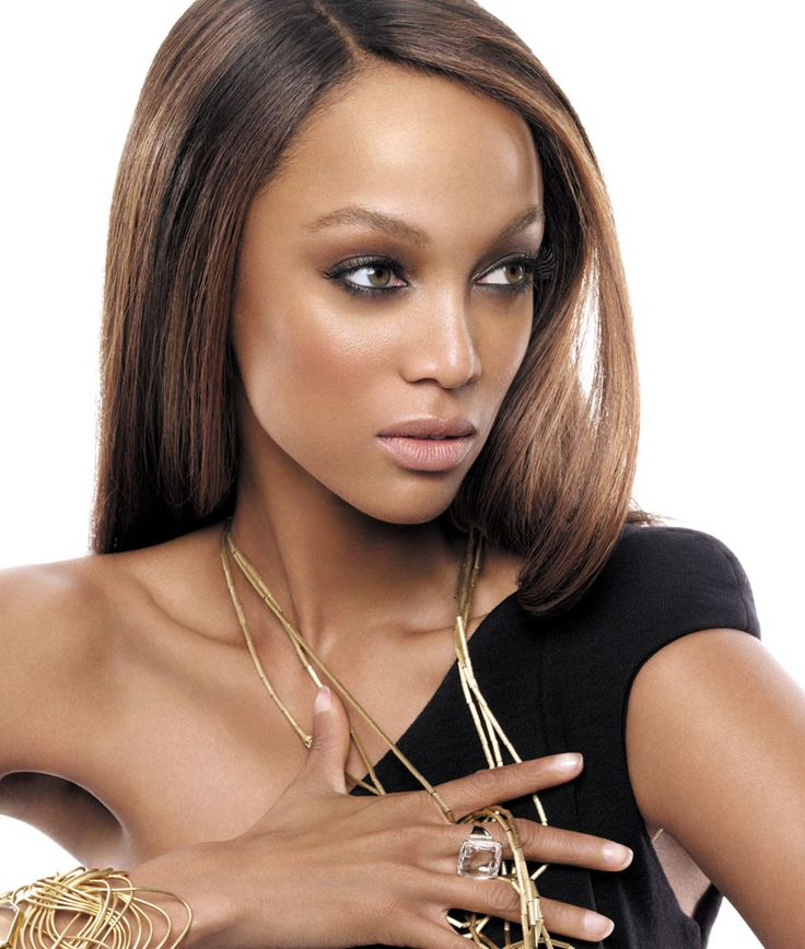 Elegantly ineffable excellence of Tyra Banks ...  Natty heat of passion...   Other TV credits include Felicity, All That, MADtv, Nick Cannon-s Wild n Out (in which she was featured as a special guest host and team captain) and The Price Is Right (guest-starring as a Barker-s Beauty)