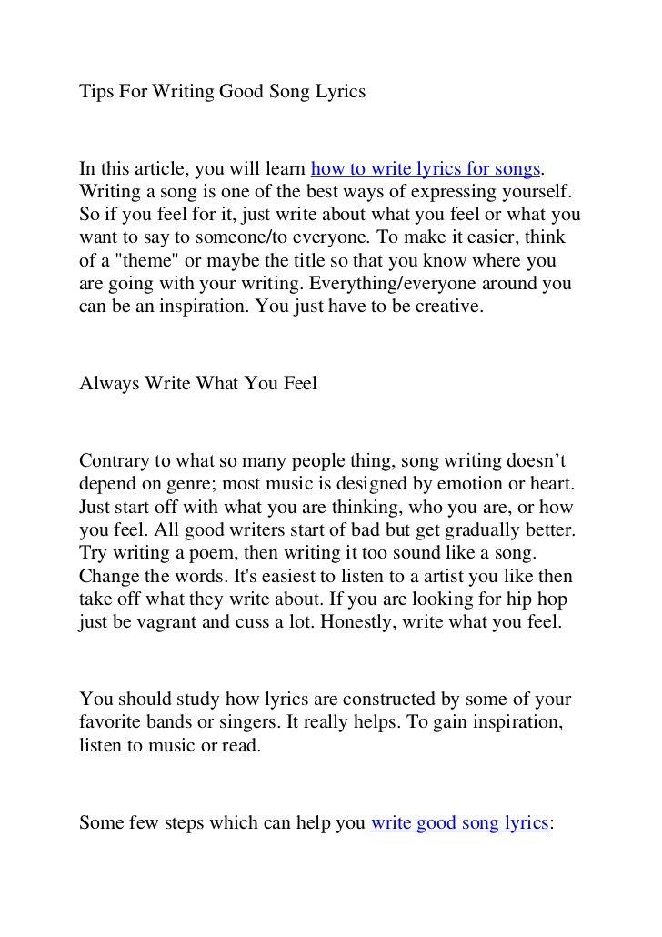 View 18 Song Lyric Writing App In 2021 Writing Lyrics Writing Tips Song Lyrics