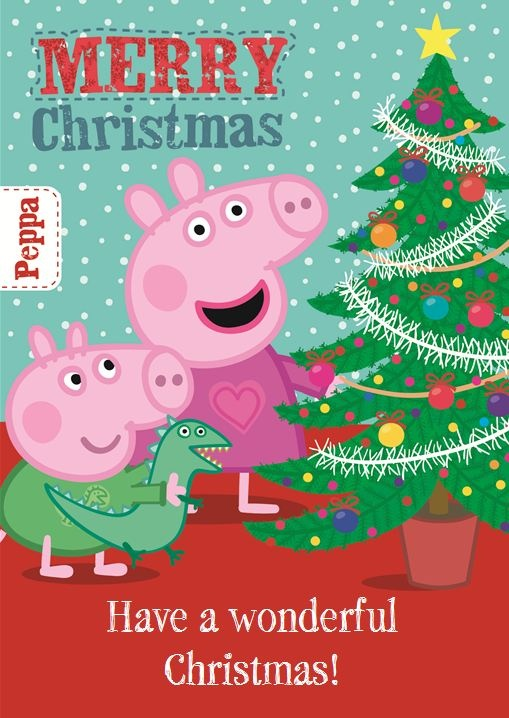 Peppa Pig Christmas Tree
