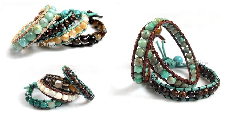 Wrap  bracelets bracciali