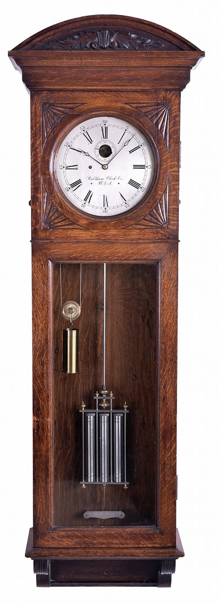 4809 best clocks images on pinterest clock wall cool watches buy online view images and see past prices for waltham clock co amipublicfo Image collections