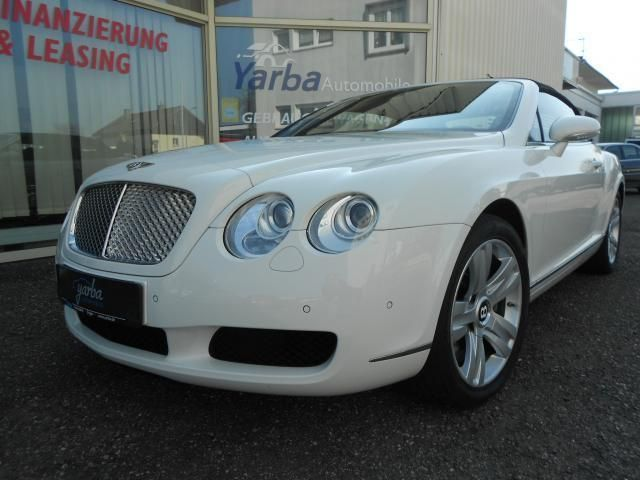 Bentley Continental GTC Vollausstattung als Cabrio/Roadster in Singen