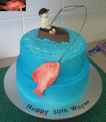 how to prepare a wedding cake in advance 12 best birthday fishing images on fishing 16100