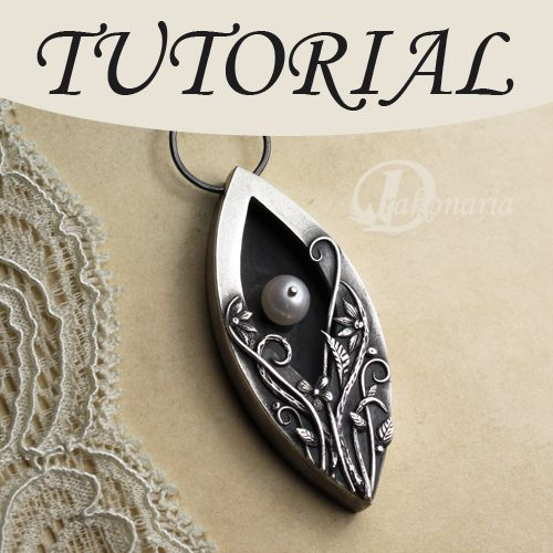 117 best jewelry pmc3 clay designs and supplies images on pinterest hidden pearl pendant tutorial metal clay jewelryprecious audiocablefo