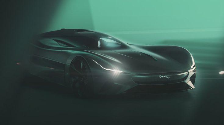 Jaguar Vision Gran Turismo Coupe Is a Beast of a Virtual Race Car