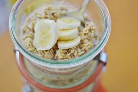 The Art of Comfort Baking: Peanut Butter Banana Overnight Oats