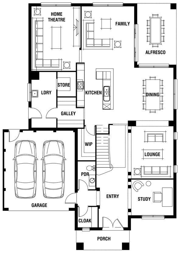 Waldorf Grange House Plan Luxury Home Design: 92 Best Images About Floor Plans On Pinterest