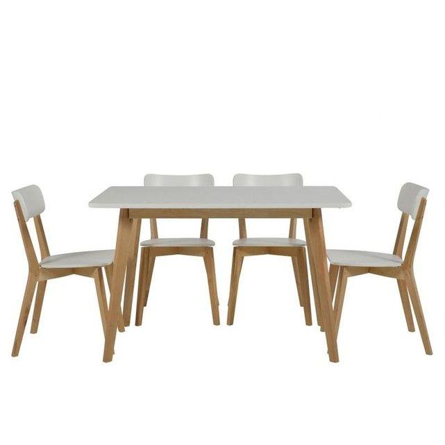 Table Rectangulaire Luza Chaise Design Chaises Bois Et Table