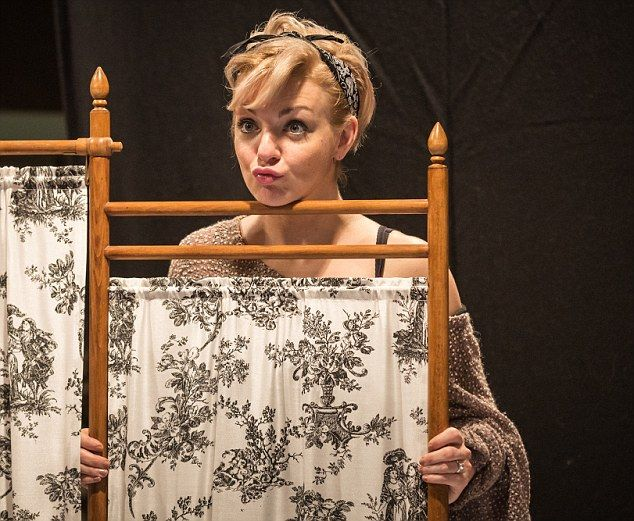 Star of the show: Sheridan Smith asFanny Brice in the first London revival of Funny Girl in half a century