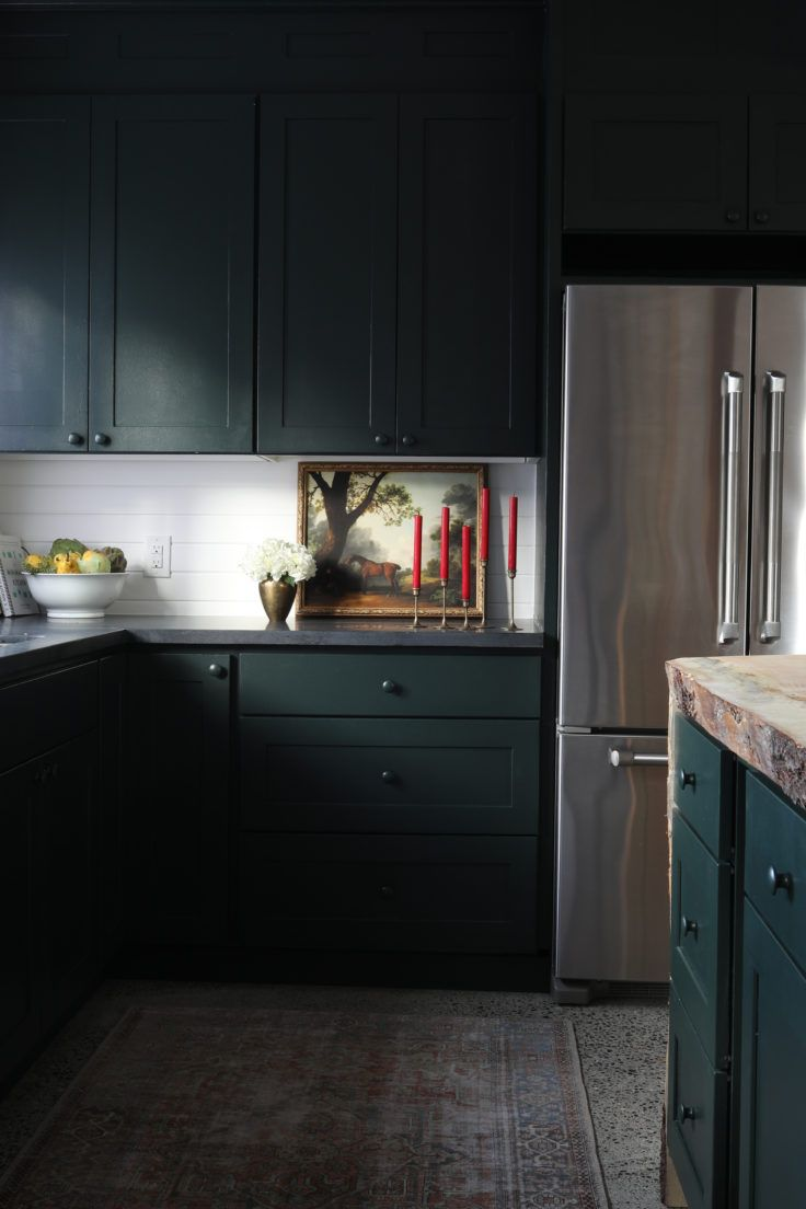 Simple Decorating And Entertaining Ideas For The Holidays The Grit And Polish Neutral Cabinets Kitchen Colors Cabinet Colors