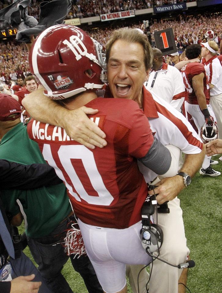 Coach & AJ celebrate #14!