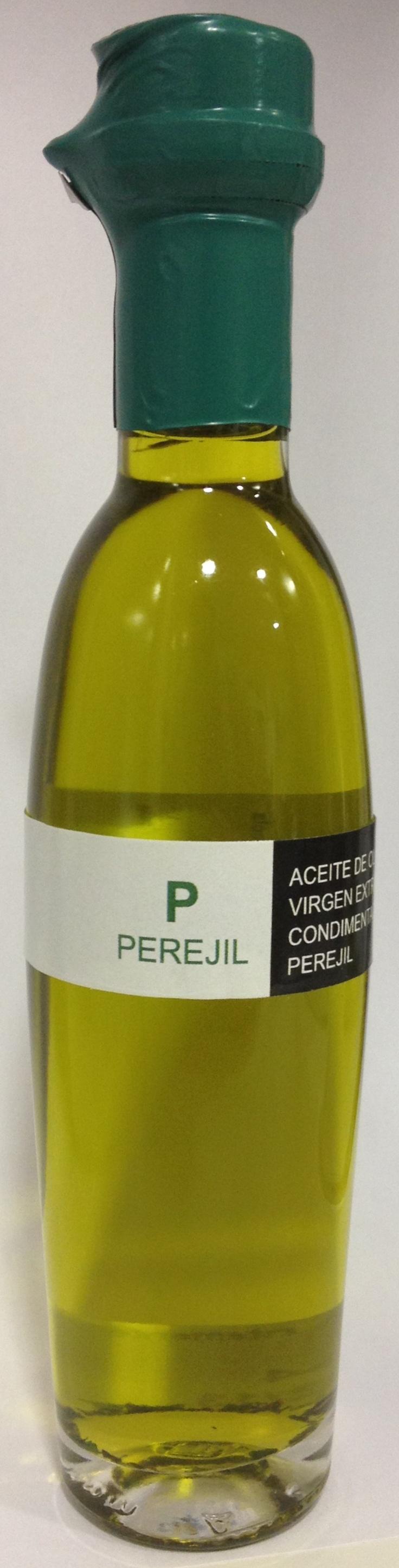 Aceite de oliva virgen extra ecostean con perejil!