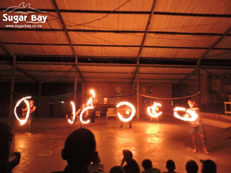 Group fireshows are the best fireshows! So much entertainment.