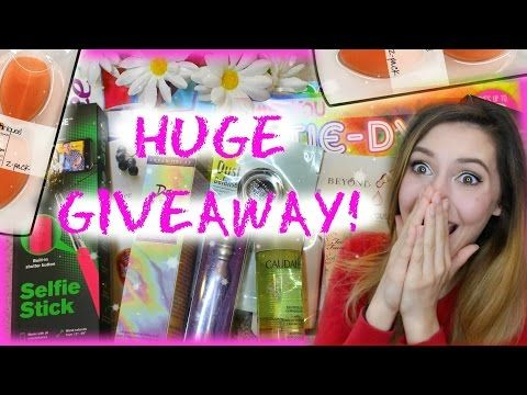 HUGE SPRING GIVEAWAY collab (International) & OPEN - YouTube