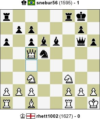 rhett1002 vs snebur56 - 0:1 - InstantChess.com: Classic Chess, 10 min + 0 sec, Rated Game, C69 Ruy Lopez: exchange variation, 5.O-O, White resigned