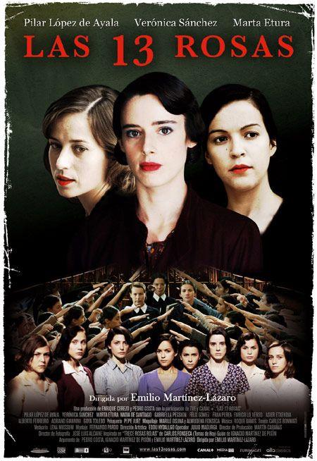 Affiche du film Las Trece Rosas d'Emilio Martínez Lázaro, (2007)