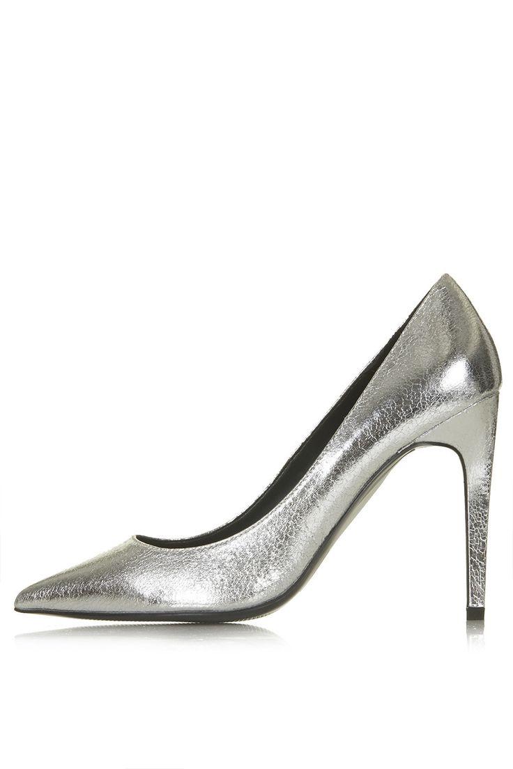 GEMINI Metallic Court Shoes - Topshop