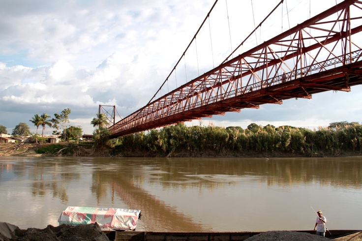 Puente San Bernardo. Crédito Sandra Preciado. Mincultura 2012/ @CulturAlbergues