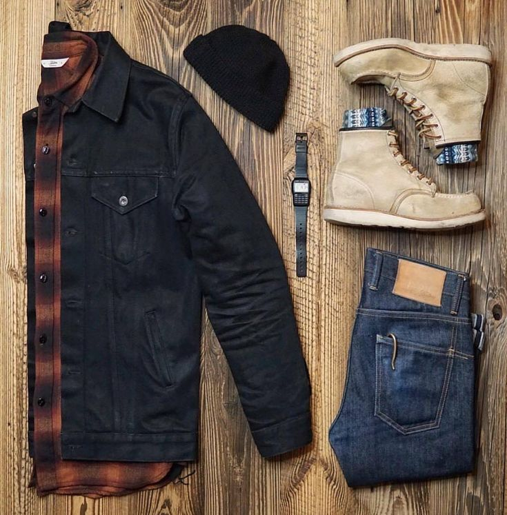 Tartan Plaid outfit ideas for guys