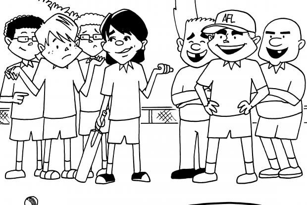 Culture Street   Jules Faber illustrates The Kaboom Kid
