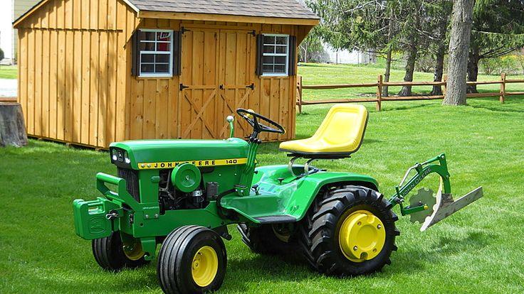 1974 JD 140-H3 John Deere tractor - John Deere - Gallery - Garden Tractor Talk