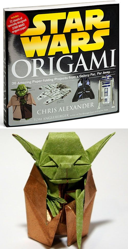 Go From Origami Padawan To Jedi Master With The Star Wars Origami Book. Contains Favorites Like Yoda And Boba Fett, R2D2 And The Millenium Falcon.