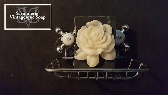 The Rose soap with Shea butter soapStoking suffer.our